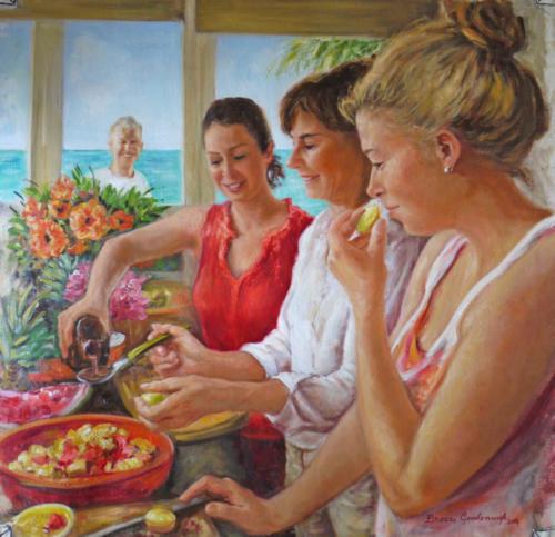 Breakfast in Antigua