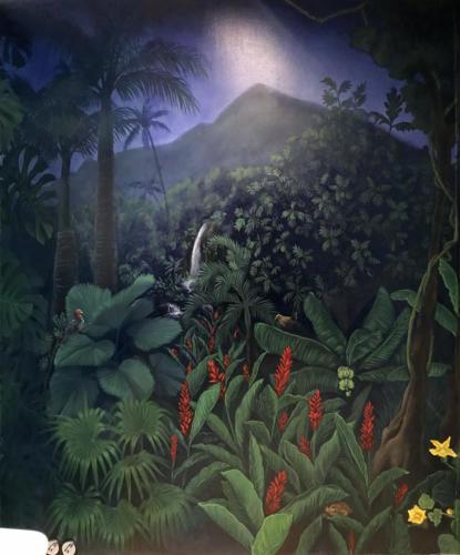 Rainforest wall